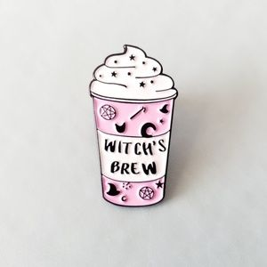 🎃 {10/$25} Witch's Brew drink pin